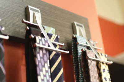 Synergy Tie Racks perfect for Custom closets in Nocatee