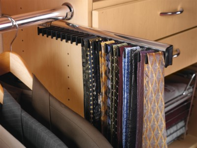 Tie Rack for Custom Closets in St Augustine
