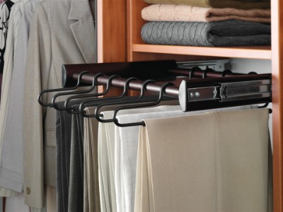 Pullout Pants Rack for Closets in Fernandina