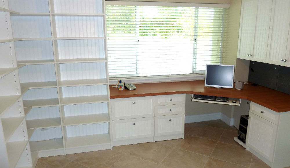 Closet Store Jacksonville -Custom Home Office
