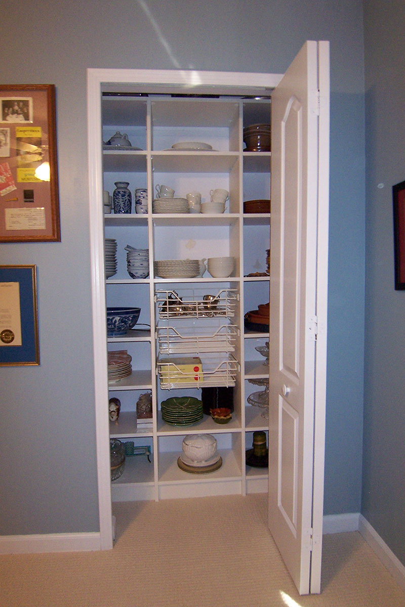Custom Storage for Fine China