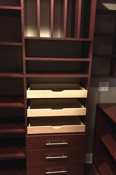 Vertical Pan Racks, Scoopfront Drawers, endless possibilities in Fernandina